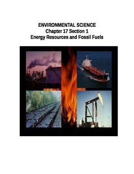Environmental Science:Energy Resources and Fossil Fuels