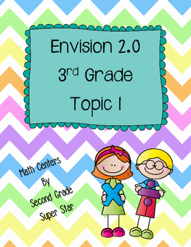 Envision 2.0 Math Centers Grade 3 Topic 1