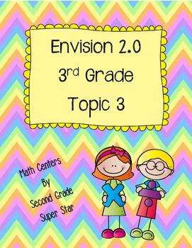 Envision 2.0 Math Centers Grade 3 Topic 3