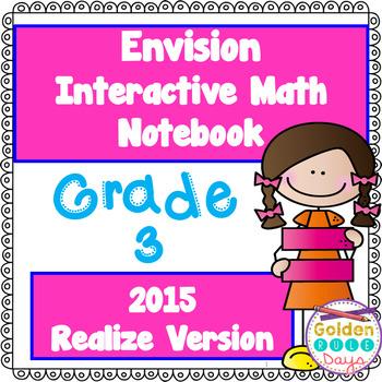 Envision Aligned Grade 3 Interactive Notebook 2015 (Realiz