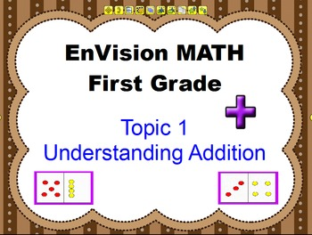 Envision Grade 1 Topic 1 Understanding Addition For Activboard