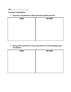 Envision Topic 11 Extended Response Questions 2nd Grade
