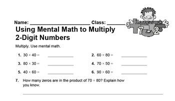 enVision Fourth Grade Math Topic 7 Homework