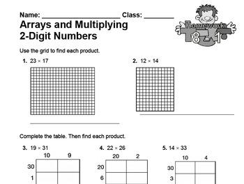 enVision Fourth Grade Math Topic 8 Homework