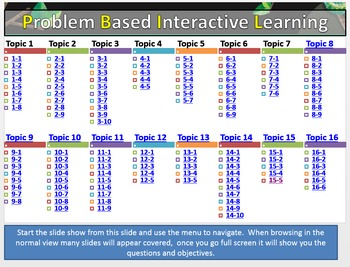 Envisions: Problem Based Interactive Learning (Grade 3)
