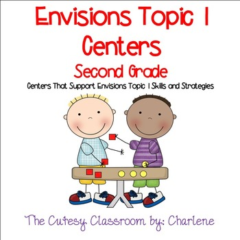 Envisions Topic 1 Centers for Second Grade CCSS 2.OA.B.2