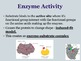 Enzymes - Biology PowerPoint Lesson and Student Notes