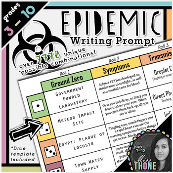 Epidemic Roll-A Writing Prompt