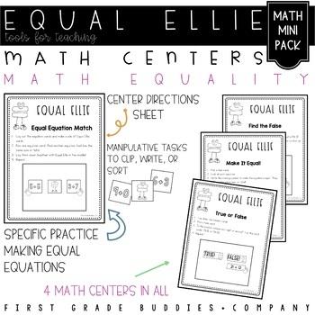 Equal Ellie: True or False Equations and Number Representa