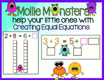 Equal Equations--Practice Finding Them Two Ways!