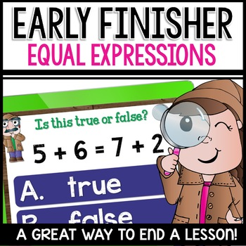 Equal Expressions using addition, subtraction, and mixed (