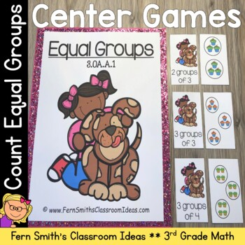 Equal Groups Math Center Games