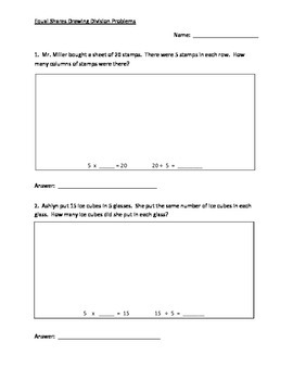 Equal Sharing Division Problems