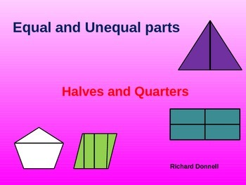 Equal and unequal parts