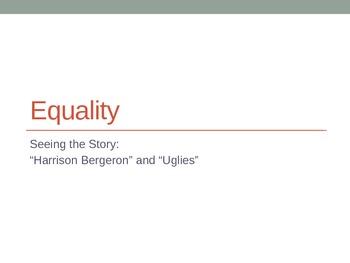 Equality LP using 'Harrison Bergeron' and 'Uglies'
