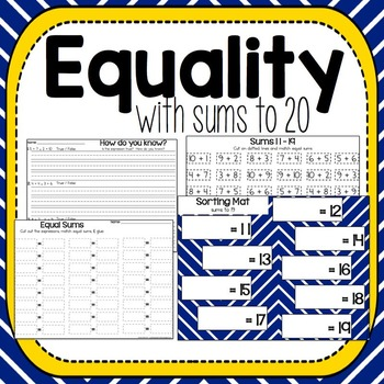 Equality with Sums to 20