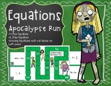 Equations - Apocalypse Run Board Game with QR Codes (1-ste