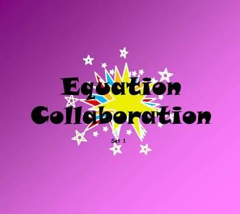 Equation Collaboration set 1