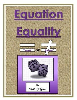 Equation Equality
