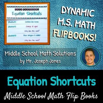 Equation Shortcuts Flip Book