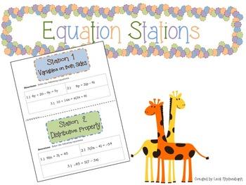 Equation Stations