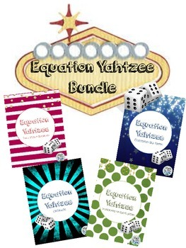 Equation Yahtzee:  Bundle