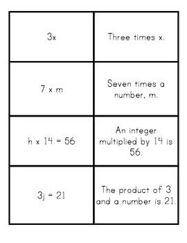 Equation/Expression Match