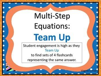 Equations:  Team Up