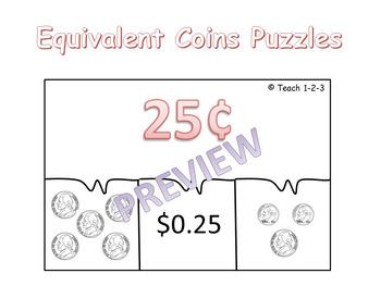 Equivalent Coins Puzzles