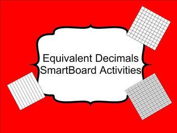Equivalent Decimals SmartBoard Lesson