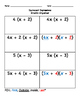 Grade 6: Equivalent Expressions Practice