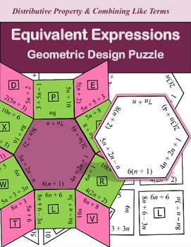 Equivalent Expressions Puzzle