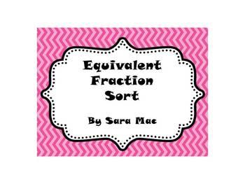 Equivalent Fraction Sort