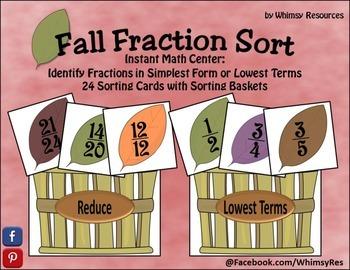 Fall Fraction Sort