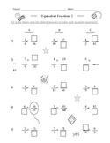 Equivalent Fractions 2