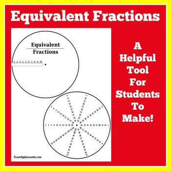 Equivalent Fractions Activity | Fractions Activity | Math Craft