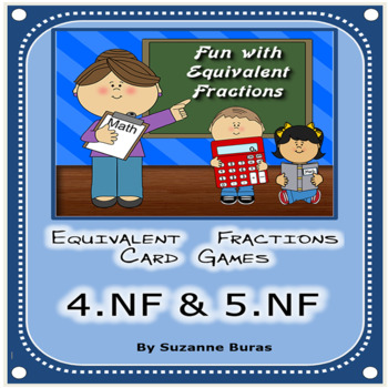 Equivalent Fractions Card Games