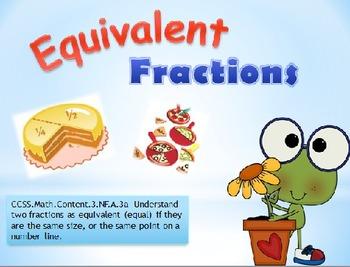 Equivalent Fractions Common Core