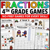 4th Grade Fraction Activities: 14 4th Grade Fraction Games