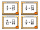 Equivalent Fractions - Fall Task Cards - Grades 4-5