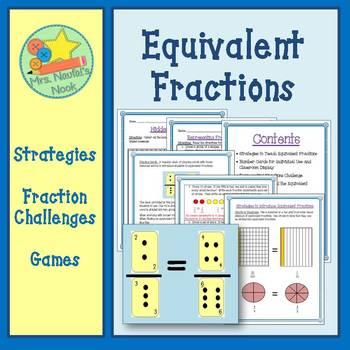 Equivalent Fractions Activities & Game