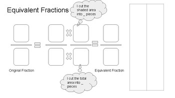 Equivalent Fractions Mat