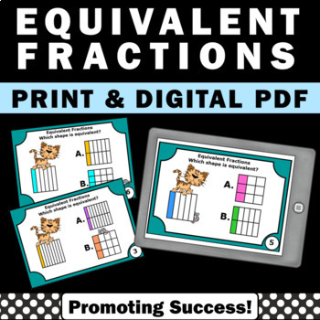 equivalent fractions activities 3rd grade