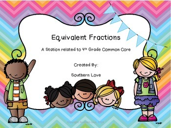 Equivalent Fractions Station
