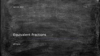 Equivalent Fractions using Bar Models