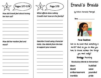 Erandi's Braids Trifold - Imagine It 4th Grade Unit 6 Week 1