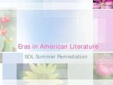 Eras in American Literature Powerpoint