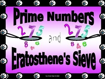 Bundle:  Eratosthenes Sieve and Prime Numbers a Foundation