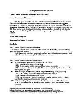 Eric Carle- Art Integration