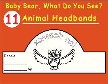 Eric Carle BABY BEAR, What Do You See?--Animal Headbands